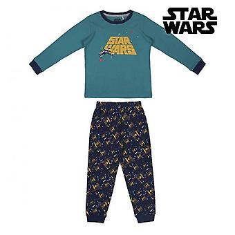 Children's Pyjama Star Wars Green