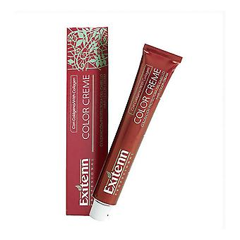 permanent farge farge creme exitenn nº 807 lys kakao blond (60 ml)