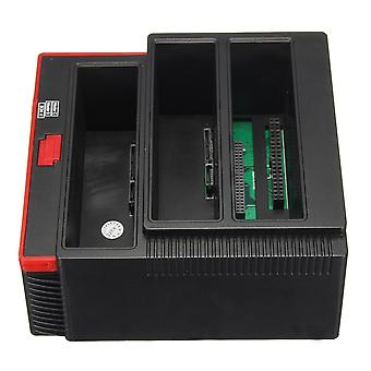 US 2.5inch3.5inch ALL In One USB3.0 To SATA IDE HDD SSD Hard Drive Enclosure Offline Clone Card