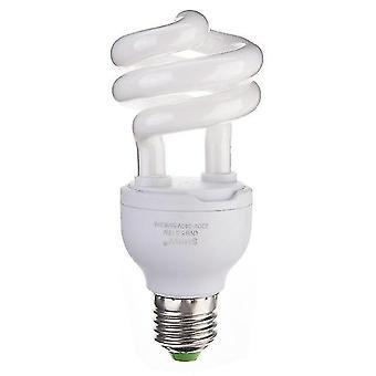 الزواحف البرمائية تدفئة الموائل الإضاءة uvb الحيوانات الأليفة مصباح الزواحف e27 5.0 10.0 13w مصباح ليلة مصباح الأشعة فوق البنفسجية