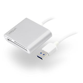 Alogic Usb Multi Card Reader Micro Sd ja Kompakti Flash Prime Series