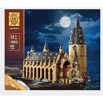 Compatible With 83030 Movie Harry Potter Hogwarts Castle Auditorium Assembly Building Block Toy 16052