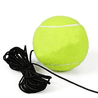 Self-learning Single Tennis Training Device With Ball