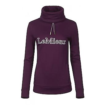 LeMieux Horsehealth Lemieux Highland Womens Funnel Neck Hoodie - Grape