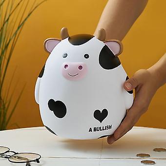 Bear Rabbit Piggy Bank Pengar Plastmynt för att locka pengar Jar Coins Pengar Box Sparlåda