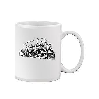 Train Sketch Mug -SPIdeals Designs