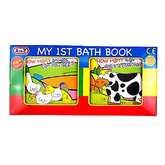 My 1st First Bath Book Baby Toddler Bathtime Play Floating Educational Toy
