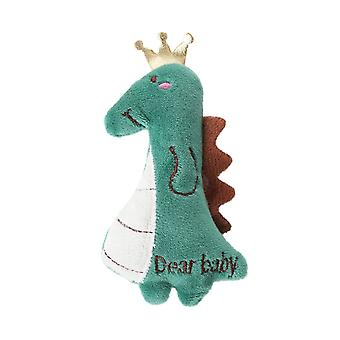 Zelený dinosaurus Plyšové zuby broušení kočičí hračky