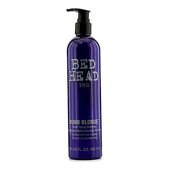 Bed Head Dumb Blonde lilla Toning Shampoo - 400ml/13,5 oz