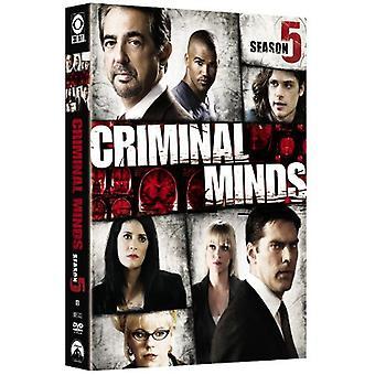 Criminal Minds - Criminal Minds: sæson 5 [DVD] USA import
