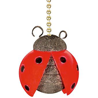Ladybug Beetle Nursery Porch Decor Ceiling Fan Light Pull