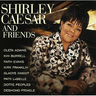 Shirley Caesar - Shirley Caesar & Friends [CD] USA import
