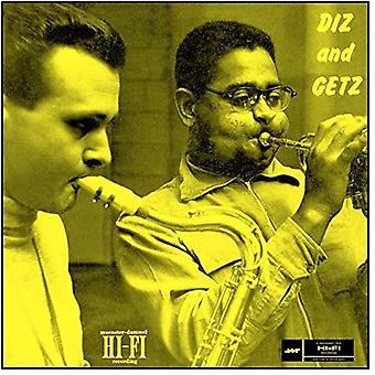 Gillespie, Dizzy & Getz, Stan - Diz & Getz [vinyyli] USA tuonti