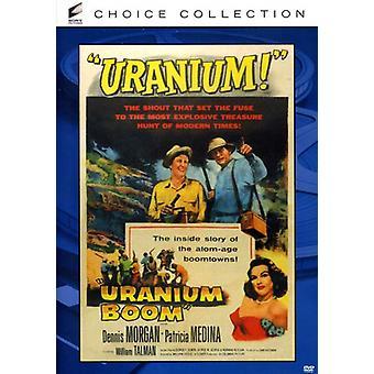 Uranium Boom [DVD] USA importeren