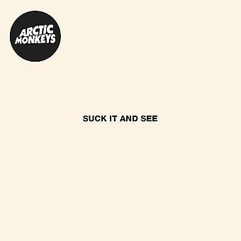 Arctic Monkeys - Suck It & See [CD] USA import