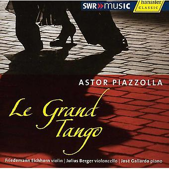 A. Piazzolla - Astor Piazzolla: Le Grand Tango [CD] USA import