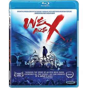 Vi er X [Blu-ray] USA importerer