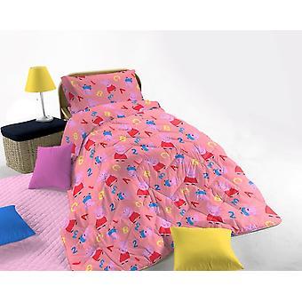 Peppa Pig Duvet Pink Single Bed