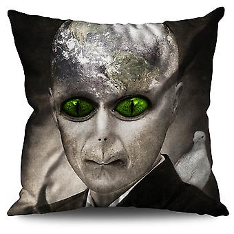 Being Mars Mystic Linen Cushion 30cm x 30cm | Wellcoda