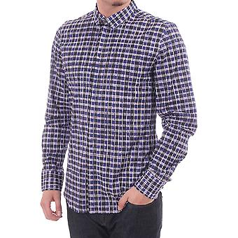 "PS Paul Smith ""BOLD"" Checked Shirt couverts de boutonnage"