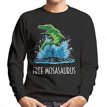 Gratuit Sweatshirt Mosasaurus Jurassic World Willy homme