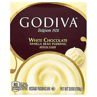 Godiva White Chocolate Vanilla Bean Instant Pudding Mix