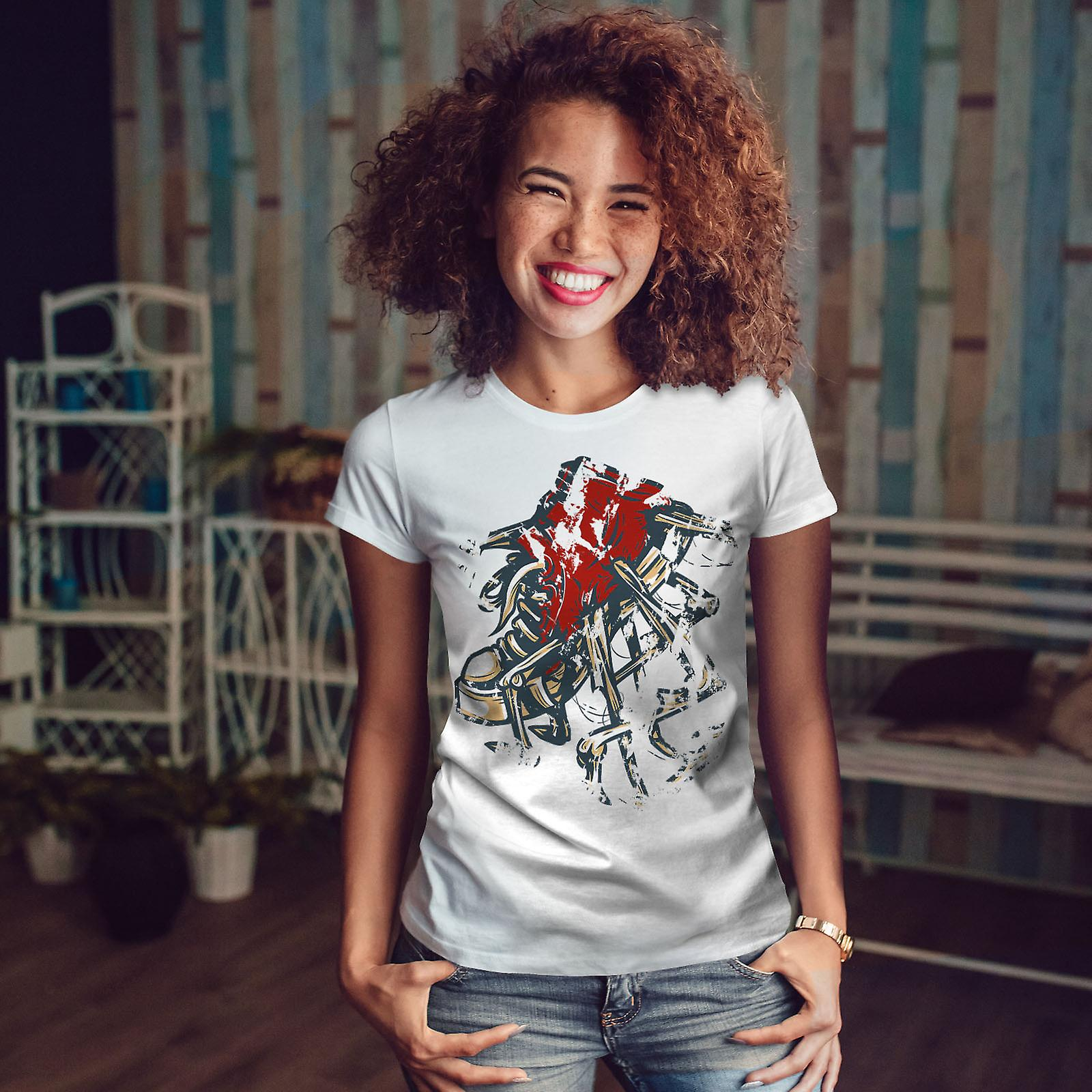 Chaussure WhiteT-shirt Swag Urban Fashion femme | Wellcoda