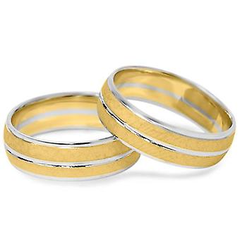 Hamrede Ring sæt 14K guld