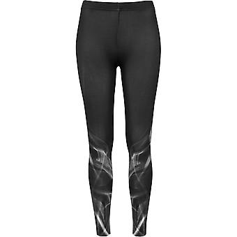 Urban classics ladies - black SMOKE leggings