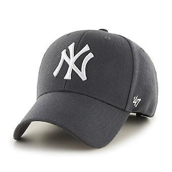 Gorra de ajuste relajado de 47 marcas - Carbón de los Yankees de Nueva York