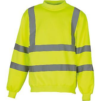 Yoko Mens High Vis Sweatshirt