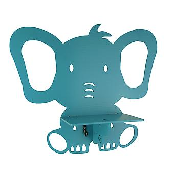 Adorable Baby Elephant Wall Shelf With Hook