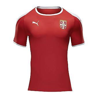 2018-2019 Serbia Home Puma Football Shirt