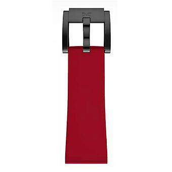 TW Steel Marc Coblen Bracelet Watch band silicone 22 MM red SB_R_B