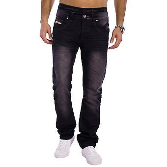 Men Jeans Designer Used Relax Fit Riddig