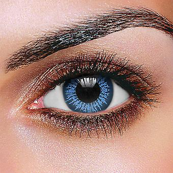 Big Eye Cool Blue Contact Lenses (Pair)