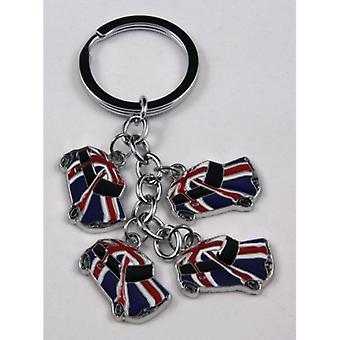Union Jack dragen Union Jack Classic Mini Keyring