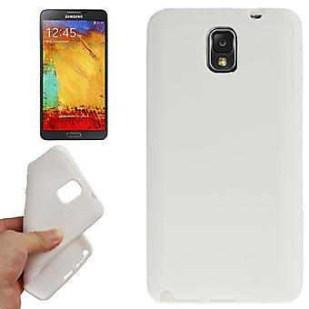 TPU case cover for Samsung Galaxy white note 3 / N9000
