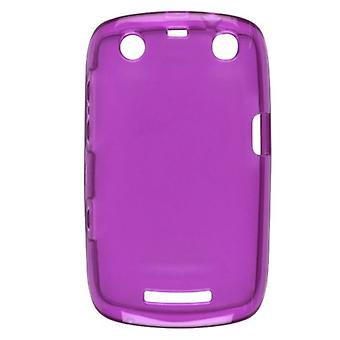 5 Pack -Ventev Dura Gel Case for Blackberry 9350 (Purple) - 348703-Z