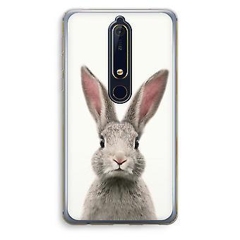 Nokia 6 (2018) boîtier Transparent (doux) - Daisy