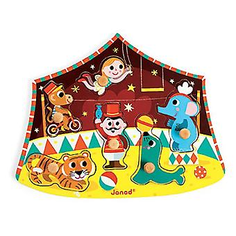 Janod Circus Chunky Wooden Puzzle