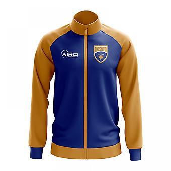 Kosovo koncepcia futbalová dráha bunda (modrá)