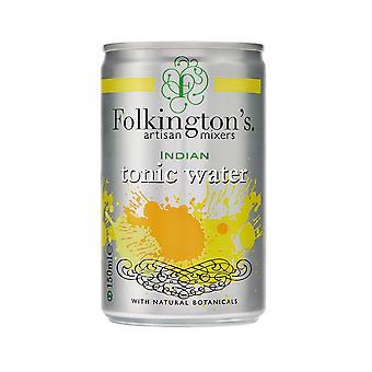Folkingtons Indian Tonic Water Mini Cans