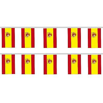 SPAIN BUNTING 12PCE 200X280MM