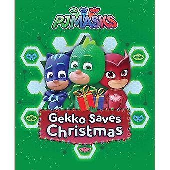 Gekko Saves Christmas (Pj Masks) [Board book]