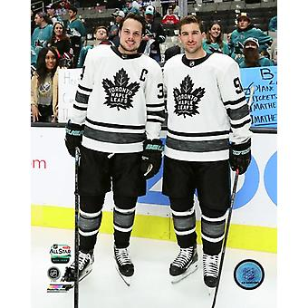 Auston Matthews & John Tavares 2019 NHL All-Star Game Photo Print
