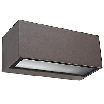 Nemesis E27 Wall Light Fixture Brown - LED-C4 05-9649-J6-T2
