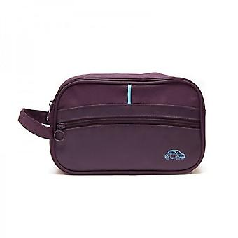 Genuine Branded Fiat 500 Car Bag Purple Cosmetic Makeup Case Pouch Man Lady Gym