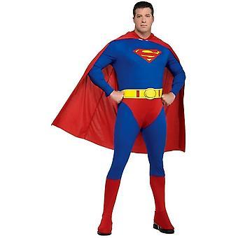 Adulte de Superman Plus Costume