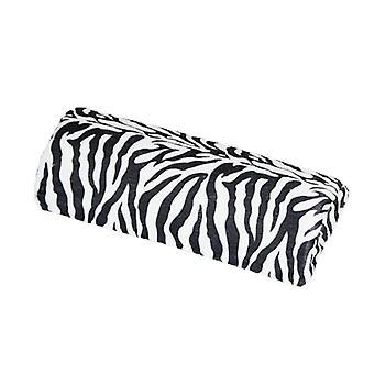 Poduszka paznokci Zebra wsparcie nadgarstka manicure uvgel akrylowe wsparcie paznokci